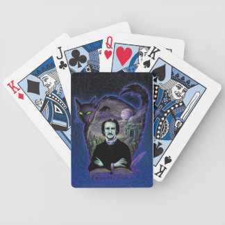 Edgar Allan Poe Gothic Bicycle Playing Cards