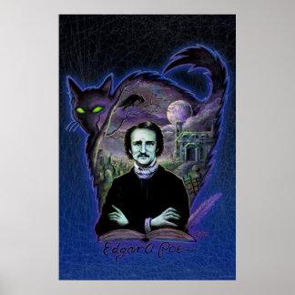 Edgar Allan Poe Gothic Poster