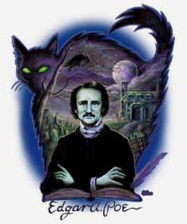 Edgar Allan Poe Gothic Tee Shirt