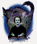 Edgar Allan Poe gótico Playera