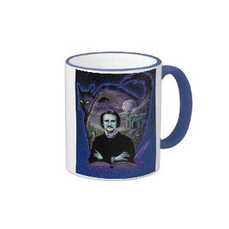 Edgar Allan Poe gótico Taza De Café