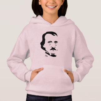 Edgar Allan Poe Hooded Sweatshirt For Girls