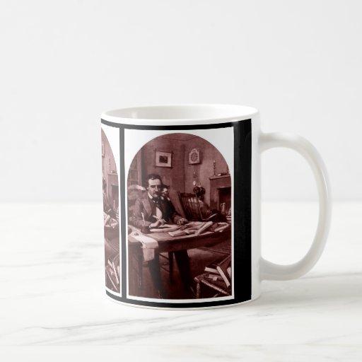 Edgar Allan Poe, Illustration restored cup 4 Mug