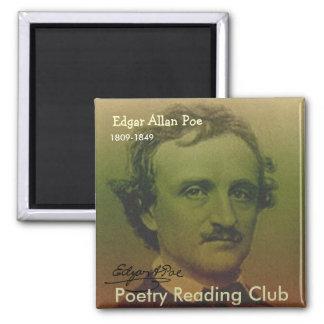 Edgar Allan Poe Imanes Para Frigoríficos