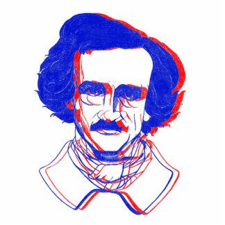 Edgar Allan Poe in 3D Statuette