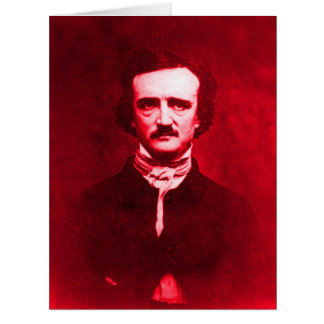 Edgar Allan Poe in Red Card