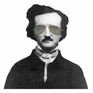 Edgar Allan Poe in Sunglasses Statuette