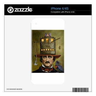 Edgar Allan Poe iPhone 4 Skins