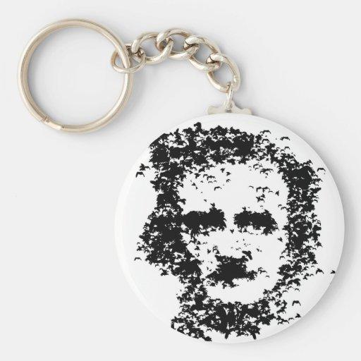 Edgar Allan Poe Keychains