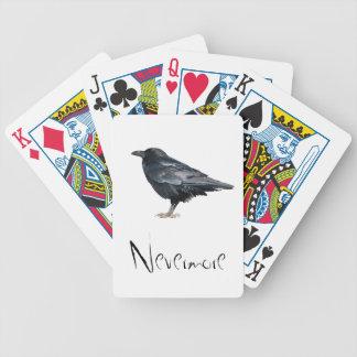Edgar Allan Poe las tarjetas del cuervo Barajas De Cartas