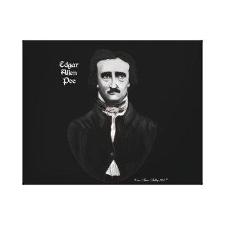 Edgar Allan Poe Impresiones En Lienzo Estiradas