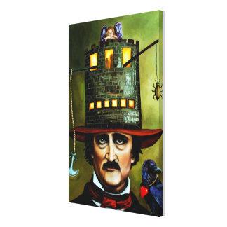 Edgar Allan Poe Impresión En Lona