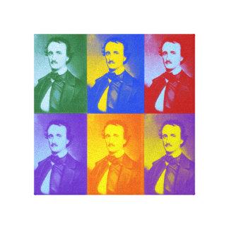 Edgar Allan Poe Impresiones En Lona Estiradas