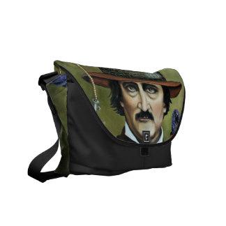 Edgar Allan Poe Messenger Bags