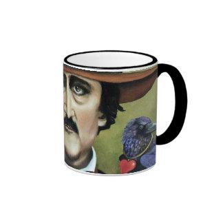 Edgar Allan Poe Ringer Coffee Mug