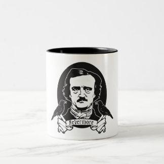 Edgar Allan Poe Two-Tone Coffee Mug