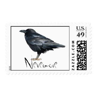 Edgar Allan Poe Nevermore Postage
