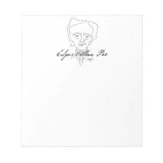 Edgar Allan Poe Notepad