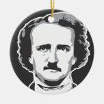 Edgar Allan Poe Ornamento Para Arbol De Navidad
