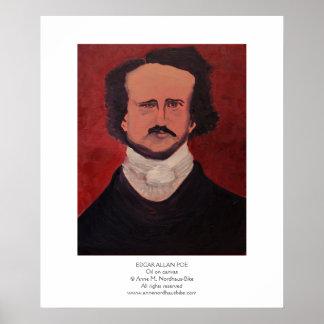 Edgar Allan Poe Painting Poster