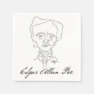 Edgar Allan Poe Paper Napkins