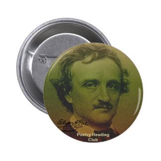 Edgar Allan Poe Pinback Button