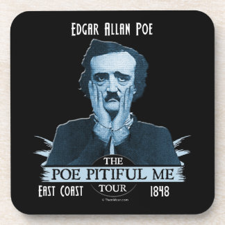 Edgar Allan 'Poe Pitiful Me' Tour Coaster Set