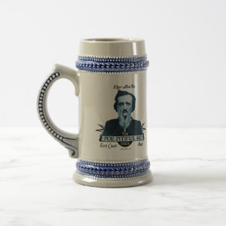 Edgar Allan 'Poe Pitiful Me' Tour Stein Coffee Mug
