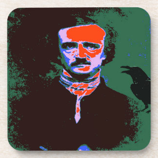 Edgar Allan Poe Pop Art 1 Drink Coaster