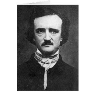Edgar Allan Poe Portrait Card