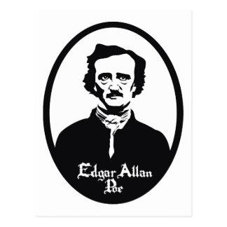 Edgar Allan Poe Portrait Postcard