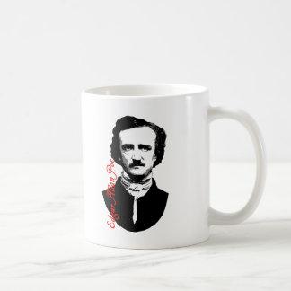 Edgar Allan Poe Portrait T-shirts, Hoodies Classic White Coffee Mug