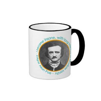 Edgar Allan Poe Portrait With Quote Mug