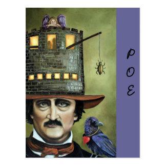 Edgar Allan Poe Post Card