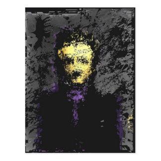 Edgar Allan Poe Postal