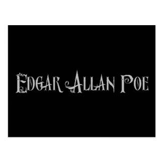 Edgar Allan Poe Postales
