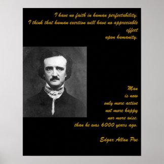 Edgar Allan Poe Quotation Poster