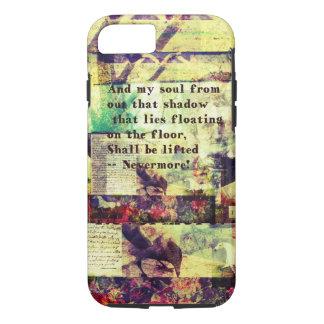 Edgar Allan Poe Quote Nevermore iPhone 8/7 Case