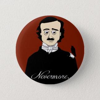 Edgar Allan Poe Raven Humor Pinback Button