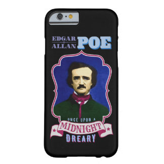 Edgar Allan Poe Raven Quote and Portrait Barely There iPhone 6 Case