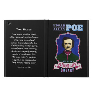 Edgar Allan Poe Raven Quote and Portrait Powis iPad Air 2 Case