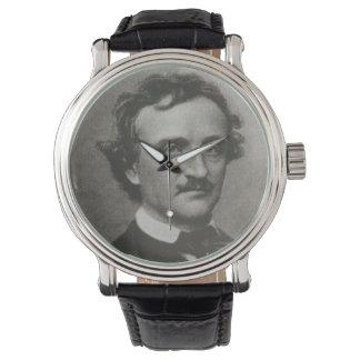 Edgar Allan Poe Reloj