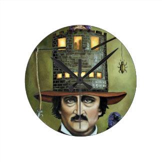 Edgar Allan Poe Relojes De Pared