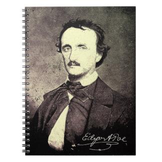 Edgar Allan Poe *Restored y Refinished* Spiral Notebooks
