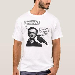 9195de52 Edgar Allan Poe Riffs On Queen's Bohemian Rhapsody T-Shirt