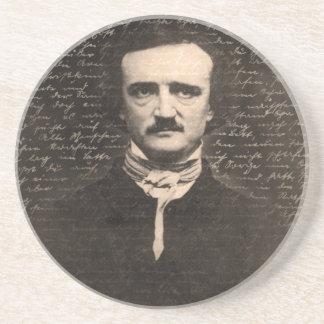 Edgar Allan Poe Sandstone Coaster