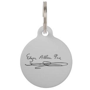 edgar allan poe signature