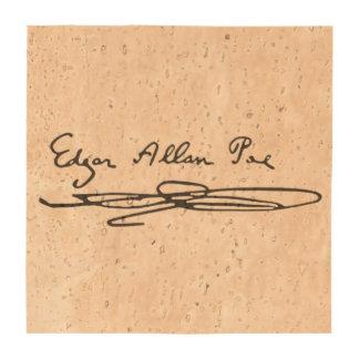 Edgar Allan Poe Signature Coasters