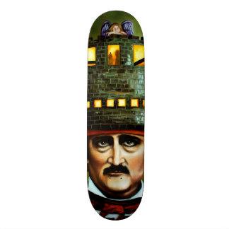 Edgar Allan Poe Custom Skateboard