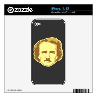 Edgar Allan Poe Skin For The iPhone 4S